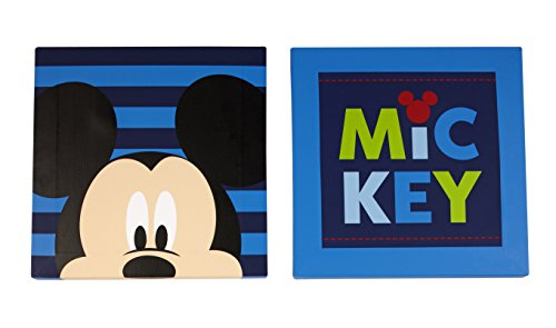Disney Mickey Wall Art, 2 Count (Mickey Mouse Art)