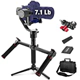 MOZA Air 3 Axis Handheld Gimbal Stabilizer with Dual Handle for DSLR Cameras, Max...