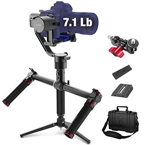 MOZA Air 3 Axis Handheld Gimbal Stabilizer with Dual Handle