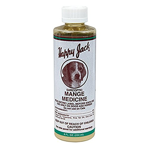 Sarcoptic Mange Medicine - 8 oz - By Happy Jack