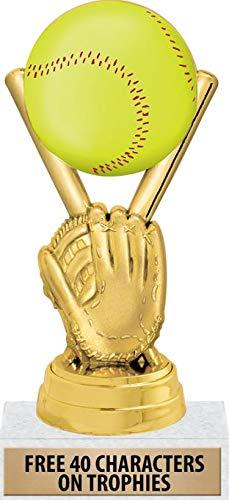 Crown Awards Softball Glove Trophy, 6