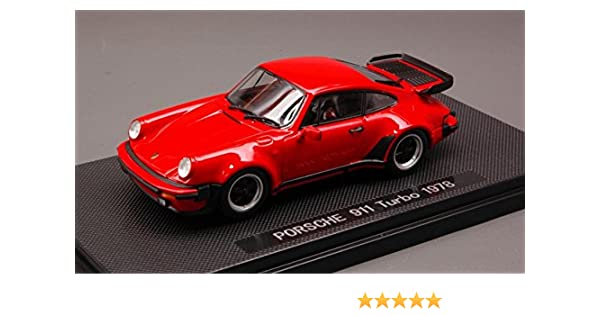 Amazon.com: EBBRO 1/43 Scale Prefinished Fully-Detailed Diecast Model, 1978 Porsche 911 Turbo in red 44142: Toys & Games