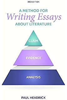 a method for writing essays about literature paul headrick a method for writing essays about literature