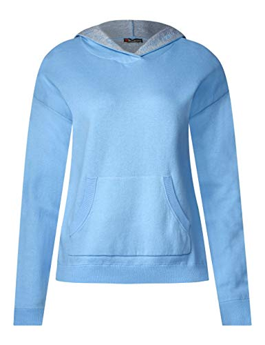 Para Mujer Street One Azul Suéter 11638 Blue cosmic TqptpExAP