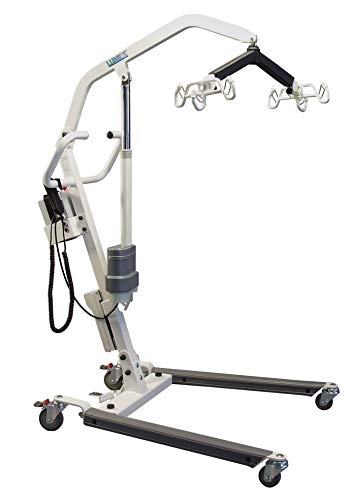 Lumex LF1050 Battery-Powered Patient Floor Lift, 400lb Weight Capacity