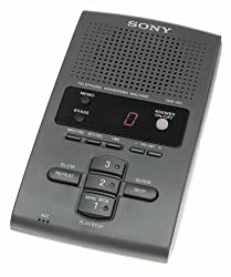 Sony Tam100 Gray Answering Machine