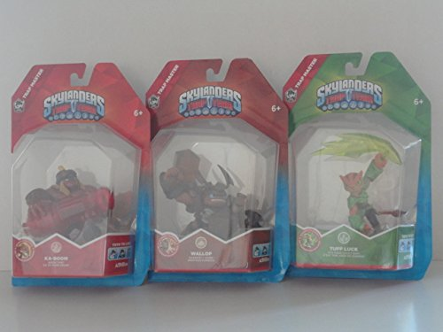 Skylanders Trap Team: Trap Master Ka-Boom, Wallop, and Tuff Luck Character Pack [Not Machine Specific] ()