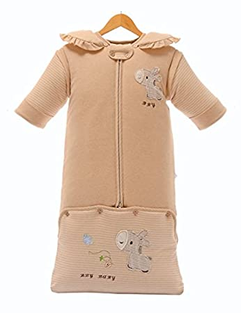 half off 9005d 194bd Organic Cotton Baby Toddler Sleeping Bag Sleep Sack | Unique ...