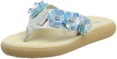 Rocket Dog Women's Spangle T-Bar Sandals Multicolour (Crystal) fBv26P