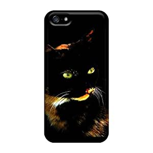 Protection Cases For Iphone 5/5s / Cases Covers For Iphone(emerald Eyes)