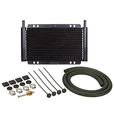 Derale 13502 Series 8000 Plate and Fin Transmission Oil Cooler: Automotive