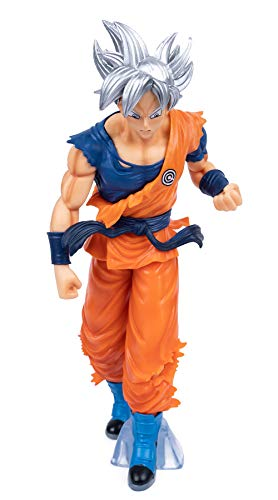"SUREIMA Dragon Ball Z Actions Figures Super Saiyan Ultra Instinct Goku Figure Statue Collection Birthday Gifts PVC 7.5"" (with Out Box)"