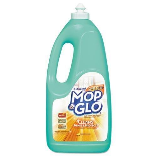 MOP & GLO 74297EA Triple Action Floor Shine Cleaner, Fresh Citrus Scent, 64oz Bottle