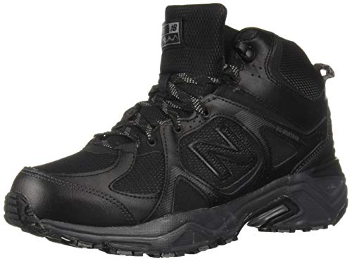 New Balance Men's 481 V3 Cushioning Trail Running Shoe Black/Magnet 1.5 D US by New Balance (Image #1)