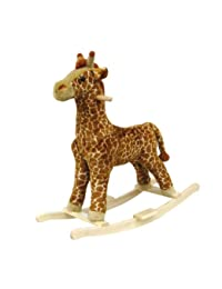 Happy Trails Giraffe Plush Rocking Animal BOBEBE Online Baby Store From New York to Miami and Los Angeles