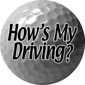 Golf Ball Car Magnet - 4