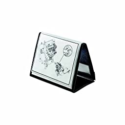 Cardinal® ShowFile Horizontal Display Easel with 20 Letter-Size Sleeves, Black