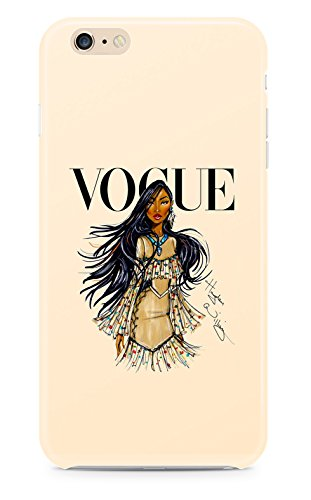 Vogue Prinzessin iPhone 6 6S Case Kunststoff Cover (Pocahontas)