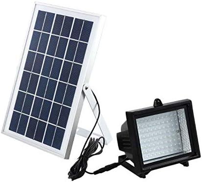 Bizlander 108 LED Solar Powered Dusk To Dawn Flood Light Outdoor Lighting Garden