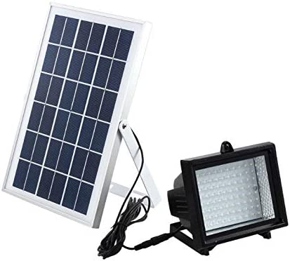 Bizlander 60LED Solar Flood Light for Garden, Camping, Sign, Parking Lot, Shed, Farm