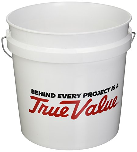 LEAKTITE 2GLSKD-TV 2-Gallon  White Plastic (2 Gallon Plastic Pail)
