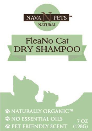 Nava Pets Organic Cat FleaNo Dry Shampoo