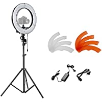 Neewer® Photo/Video 14/36cm Outer 36W 180 Pieces 5500K LED Ring Light Kit with 75/190Light Stand and Hot Shoe Cradle Headfor Photography Studio Shooting