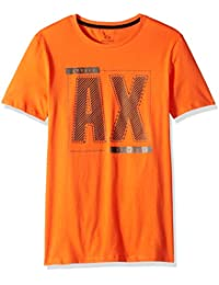 Men's Short-Sleeve Metallic Ax Graphic T-Shirt