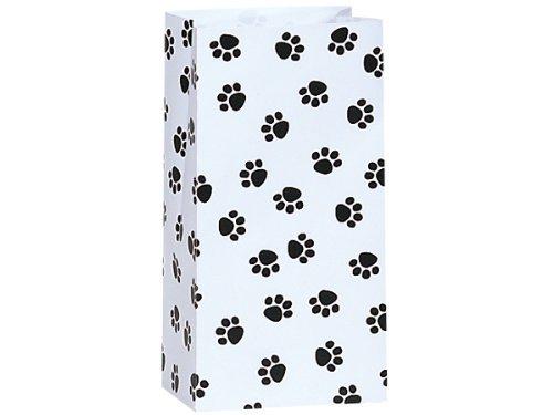 4 Lb White Paper Bags - 8