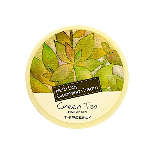 The Face Shop Herb Day Cleansing Cream Green Tea (The Face Shop Herb Day Cleansing Cream)