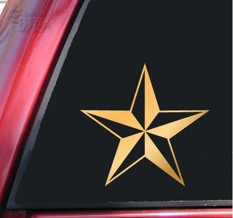 Nautical Star Vinyl Decal Sticker (4