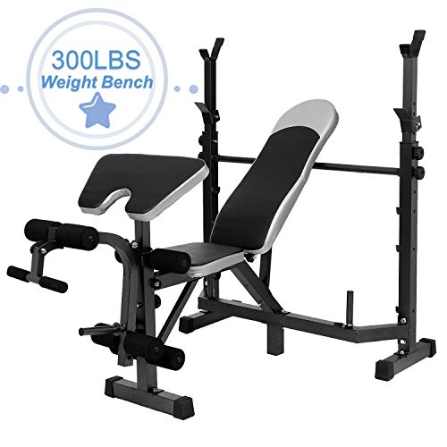 Strength Training Olympic Weight Benches for Full Body Workout - Adjustable Olympic Weight for Indoor Exercise (Olympic Weight Benches)