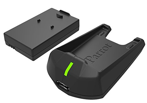 Parrot-PF070239-Genuine-Minidrones-3-Charger-Battery-Black