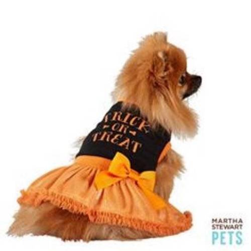 Martha Stewart Pets Halloween Trick or Treat Dog Costume Dress Size Small -