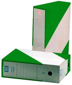 Definiclas 096576 - Archivo definitivo, formato folio, color verde: Amazon.es: Oficina y papelería