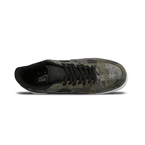 Nike Mænds Air Force 1 '07 Lv8 Basketball Sko Oliven-hvid-sort eNDN4