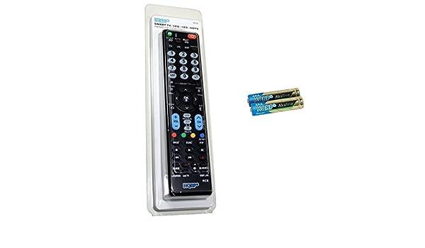 HQRP Mando a Distancia Universal para LG 55UH950V / 49UH770V ...
