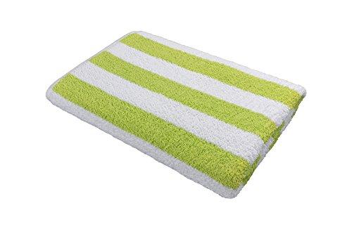 - Splash Pool Towel - Hotel & Resort Extra Large Pool Towels for Pool, Beach, Spa, Gym - Lime Green Cabana Stripes - 100% Premium XL Cotton Towel (35