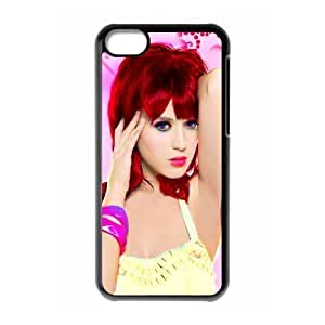 C-EUR Print Katy Perry Pattern Hard Case for iPhone 5C