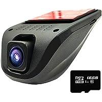 E-ACE Dash Cam WiFi 1080P FHD Car Video Recorder 4-LAN...