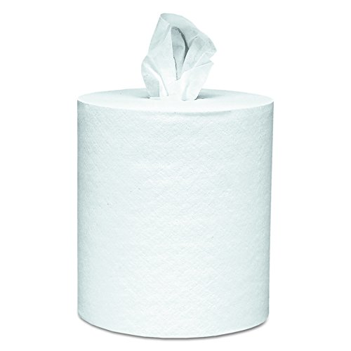 Scott 01032 Roll-Control Center-Pull Towels, 8 x 12, White, 700 Per Roll (Case of 6 Rolls) (Towel Scott Paper Dispenser)