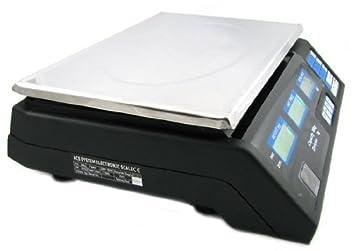 Precio Báscula Digital 40 kg/5 G (Resistente al Agua) con Pantalla LCD batería - Precio Rastrillo - Báscula Báscula de Cocina Digital de Acero Inoxidable ...