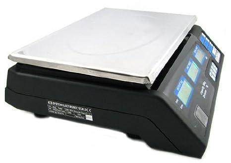 Precio Báscula Digital 40 kg/5 G (Resistente al Agua) con Pantalla LCD