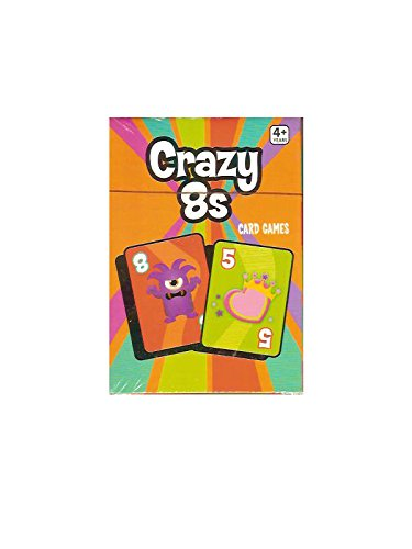 Crazy Eights or 8s Classic Card Game (Crazy Eights Card Game)