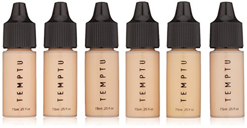 Temptu Perfect Canvas Hydra Lock Airbrush Foundation Starter Set, Fair/Light