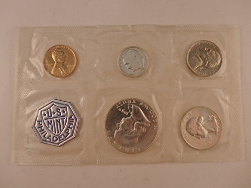 1959 US Proof Set 5 Coin Silver Proof Set Mint State ()