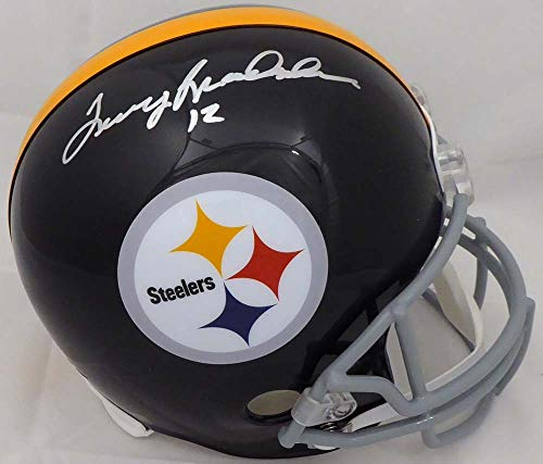 Terry Bradshaw Autographed Signed Memorabilia Pittsburgh Steelers Full Size Replica Helmet - Beckett Authentic