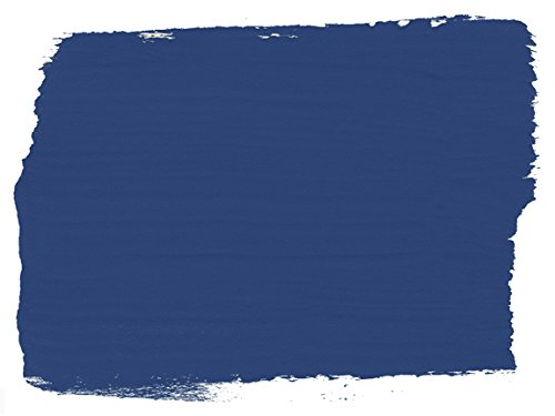 Chalk Paint (R) by Annie Sloan – Decorative Paint for Furniture, cabinets, Floors, Home Decor, and Accessories – Water-Based – Non-Toxic – Matte Finish (Quart - 32oz, Napoleonic Blue) by Annie Sloan (Image #1)