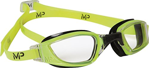 Michael Phelps Xceed Swimming Goggles - Yellow/Black - Clear Lens