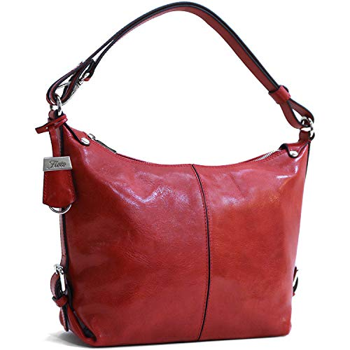 - Floto Capri Tote Full Grain Leather Shoulder Bag Crossbody